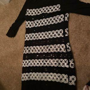 *SALE*White House Black Market sequined dress